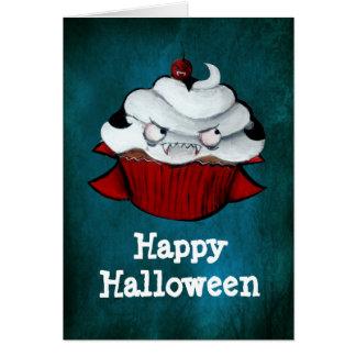 Vampire Count Cupcake Card