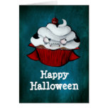 Vampire Count Cupcake Greeting Cards