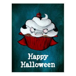 Vampire Count Cupcake Postcard