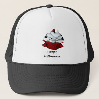 Vampire Count Cupcake Trucker Hat