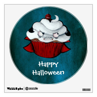 Vampire Count Cupcake Wall Decal