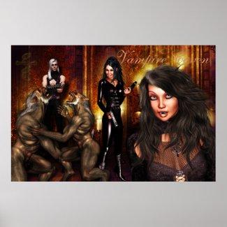 Vampire Coven Poster print
