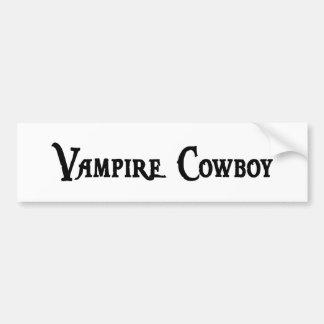 Vampire Cowboy Sticker