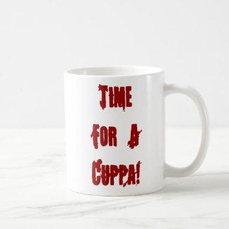 Vampire Cup Of Tea Mug Blood Splattered
