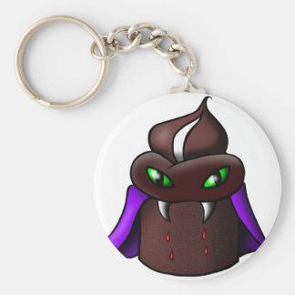 Vampire Cupcake Keychain