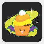 Vampire Cupcake Square Sticker