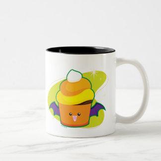 Vampire Cupcake Two-Tone Coffee Mug