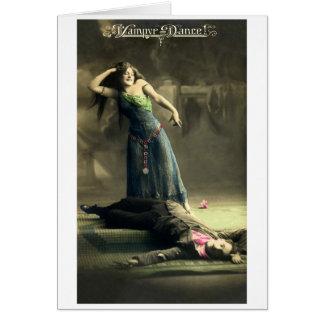 Vampire Dance Card