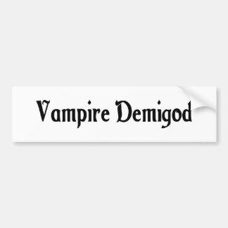 Vampire Demigod Bumper Sticker