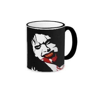 VAMPIRE DEMON (mug) Ringer Coffee Mug