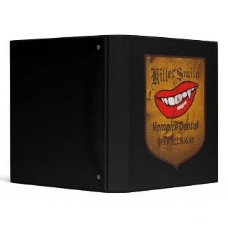 Vampire Dental binder