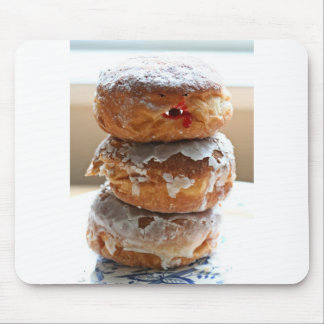 Vampire Donut Stack Mouse Pad