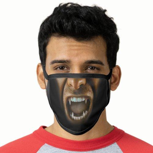 Vampire Dracula Fangs Sharp Teeth Scary Face Mask