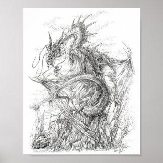 "Vampire Dragon - ""Azeth the Dracyre"" Poster"