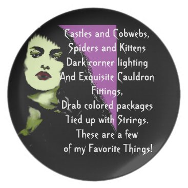 Halloween Themed Vampire Dreams! Dinner Plate