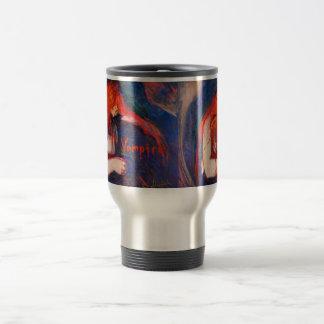 Vampire Edvard Munch Travel Mug
