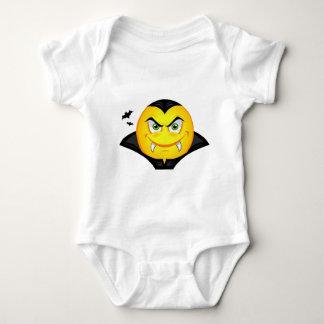 Vampire Emoticom Baby Bodysuit