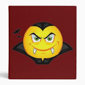 Vampire Emoticom Binder
