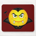 Vampire Emoticom Mouse Pad