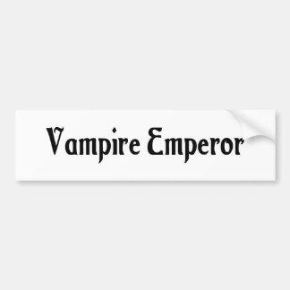 Vampire Emperor Bumper Sticker