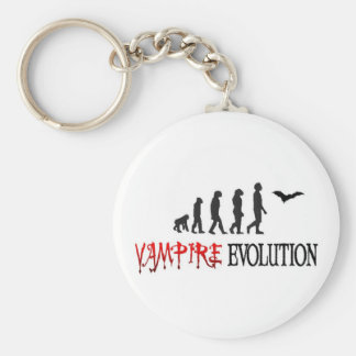 Vampire Evolution Basic Round Button Keychain
