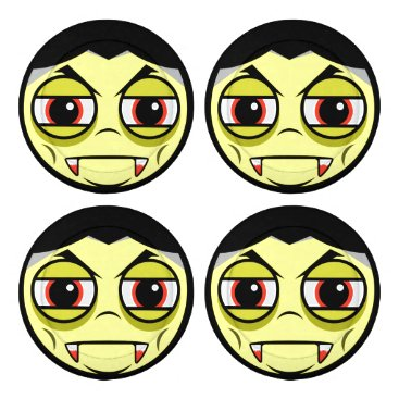 Halloween Themed Vampire Face Button Covers