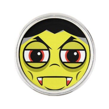 Vampire Face Pin