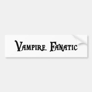 Vampire Fanatic Sticker