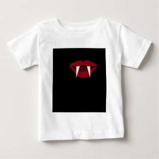 Vampire Fangs Blood Red Lips Baby T-Shirt