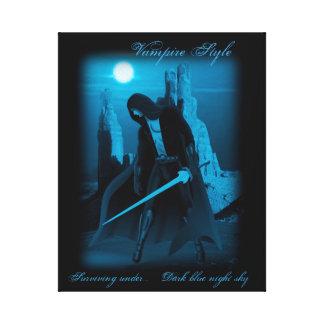 "Vampire fighter-20"" x 16"", 1.5"", Single Canvas Print"
