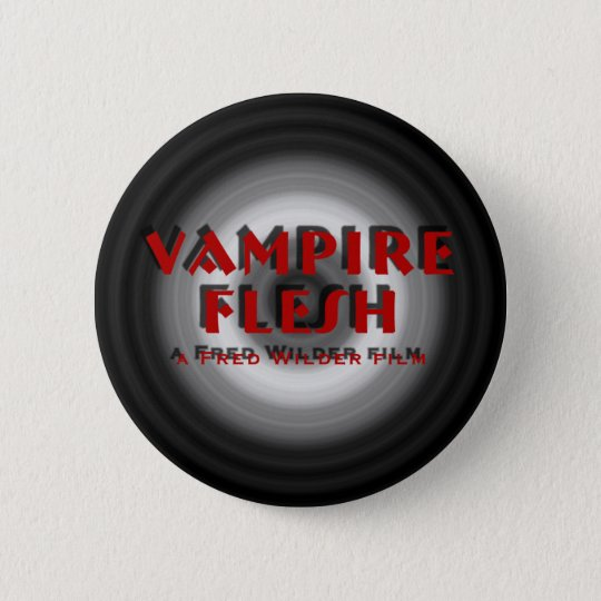 Vampire Flesh - vortex design No.1 Pinback Button