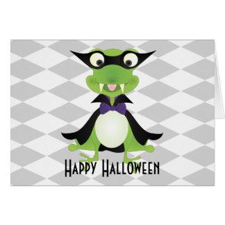 Vampire Frog Greeting Card