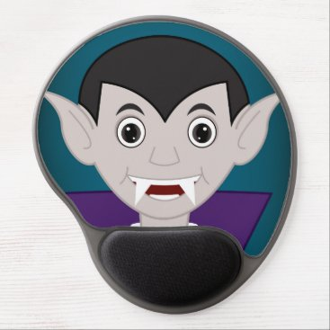 Halloween Themed Vampire Gel Mouse Pad