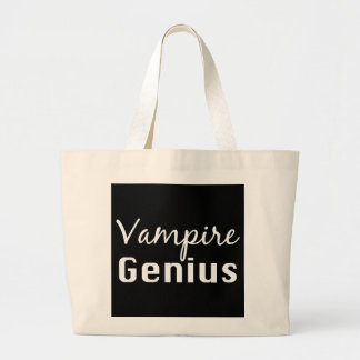 Vampire Genius Gifts Jumbo Tote Bag