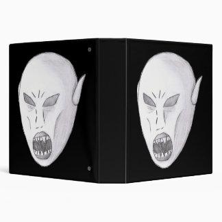 Vampire Ghoul Sketch 3 Ring Binder