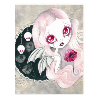 "Vampire Girl: ""Arabella"" Postcard"