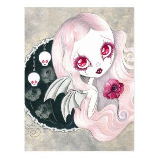 "Vampire Girl: ""Arabella"" Postcard"