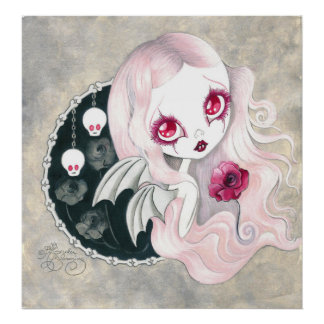 """Vampire Girl: """"Arabella"""" Poster"""