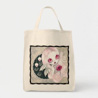 "Vampire Girl : ""Arabella"" Tote Bag"