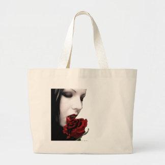 VAMPIRE GIRL TOTE BAGS