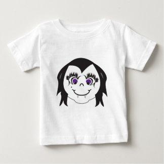 Vampire Girl Face Baby T-Shirt