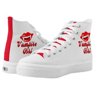 Vampire girl High-Top sneakers