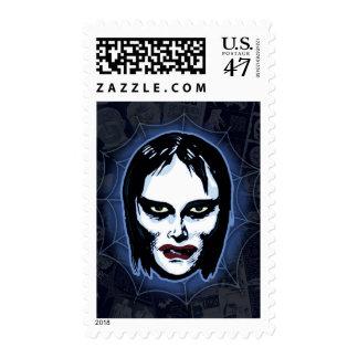 Vampire Girl (horror) Postage