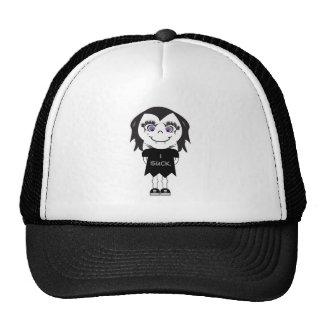 Vampire Girl I Suck Trucker Hats