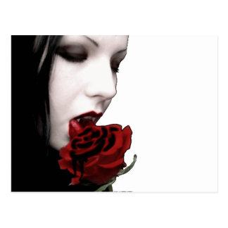 VAMPIRE GIRL POSTCARD