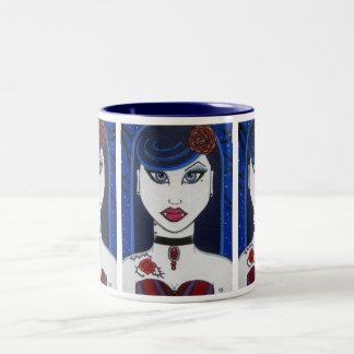 Vampire Glam EMO Girl Mug (Big)