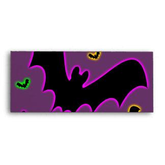 Vampire Glow Bats Envelope