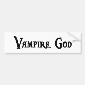 Vampire God Bumper Sticker