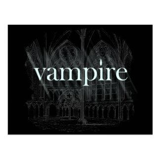Vampire Gothic Postcard