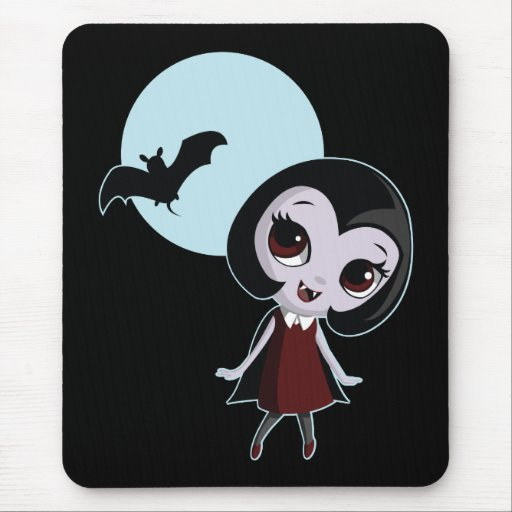 vampire_green mouse pad